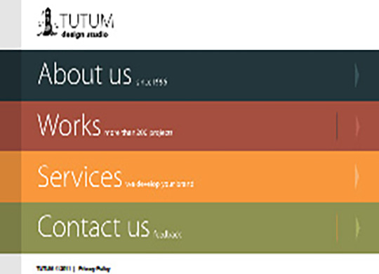 Tutum 2011 Website