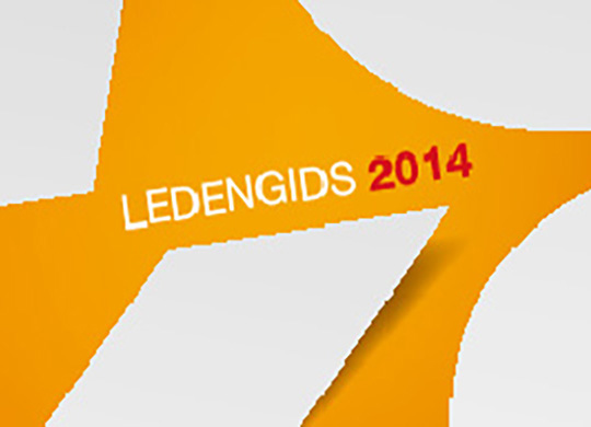 Voka ledengids 2014 Data Merge Adobe Indesign
