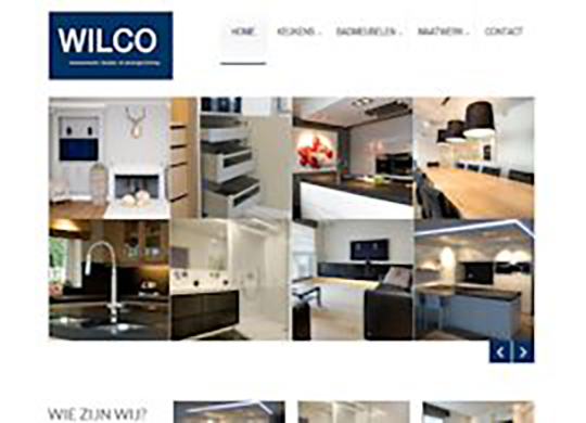 Wilco Website  (2de versie)
