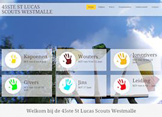 Scouts WestmalleRestyling bestaande website