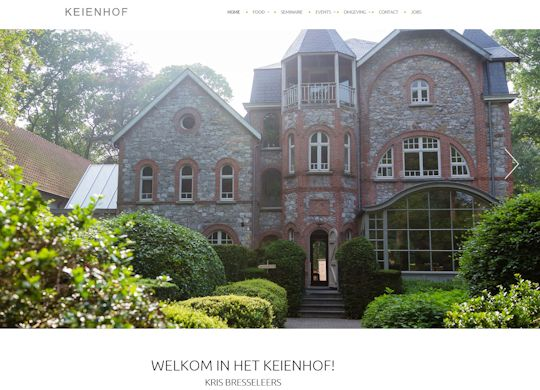 KeienhofAanmaak website