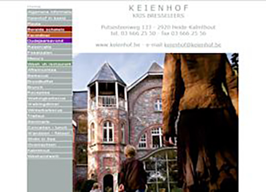 Keienhof Website